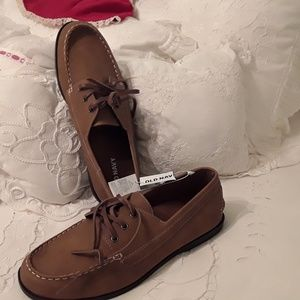 Old Navy Shoes - NWT OLD NAVY MEN'S SUEDE TAN LOAFERS SIZE 11